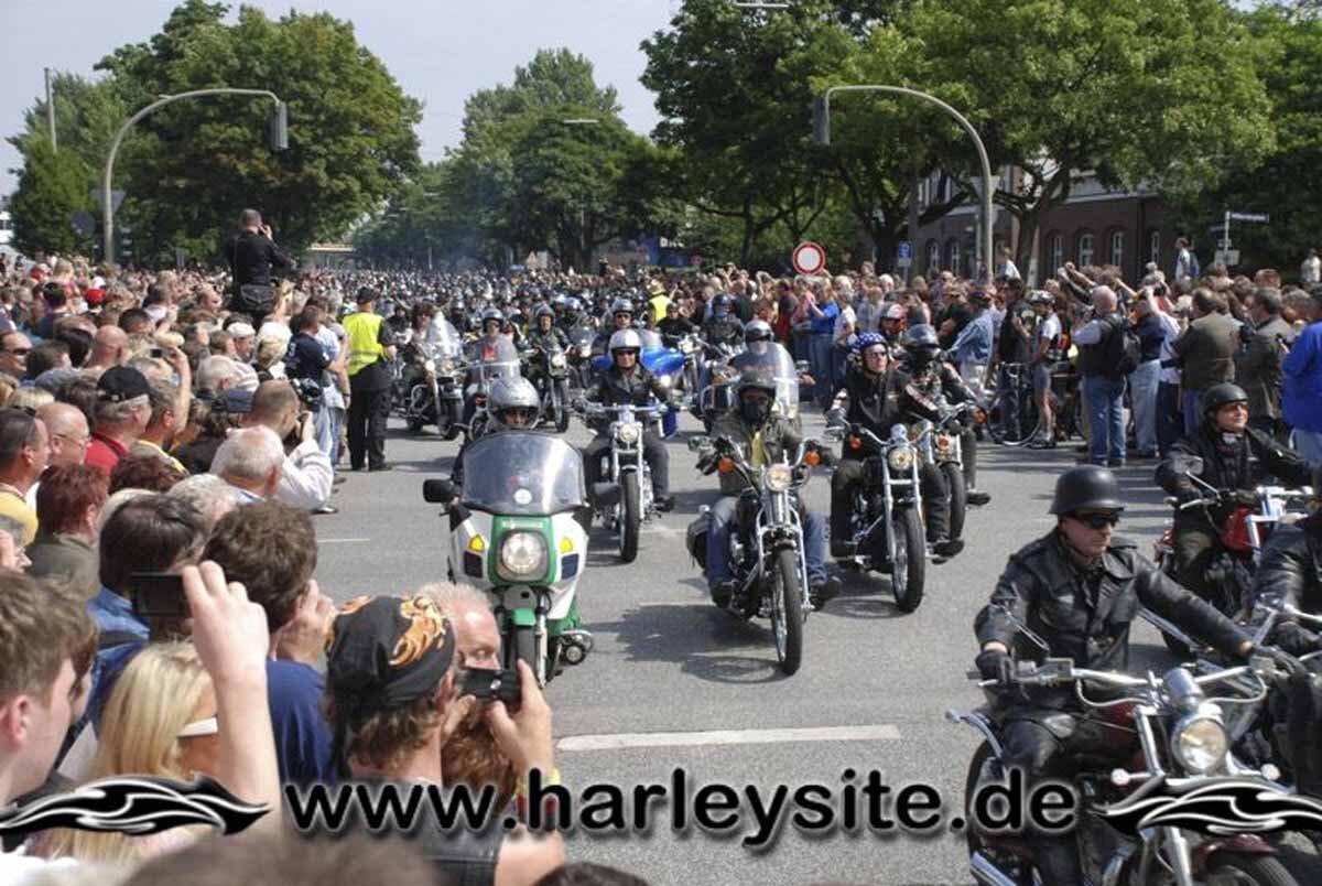 Hamburg Harley Days 2008-Ausfahrt-219