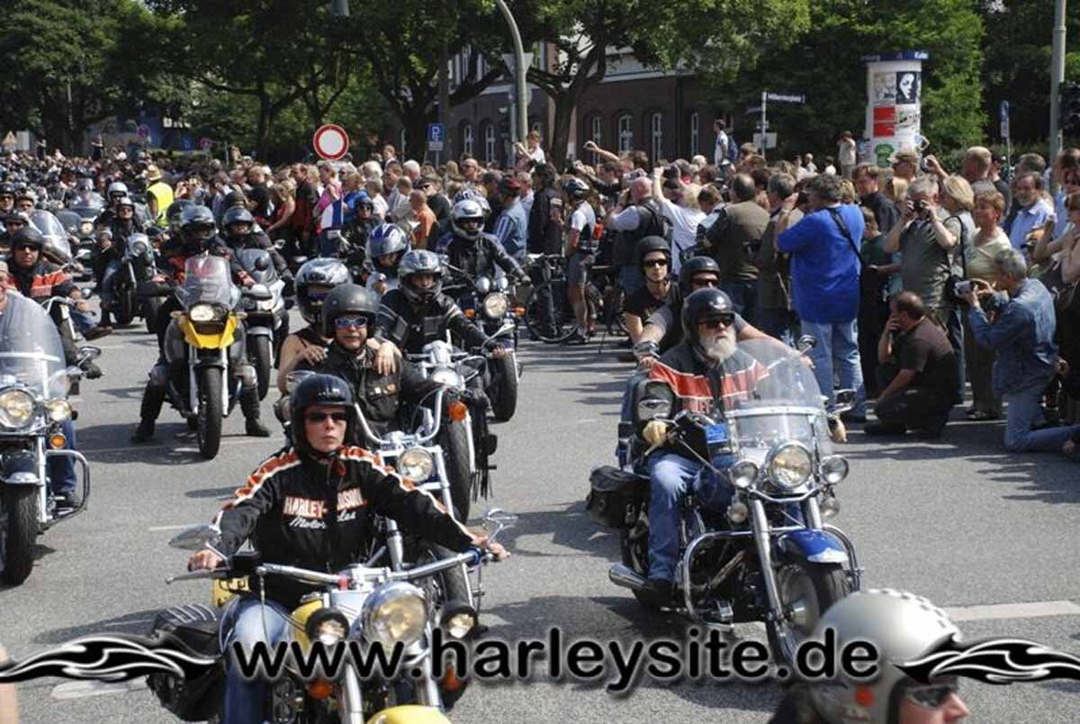 Hamburg Harley Days 2008-Ausfahrt-221