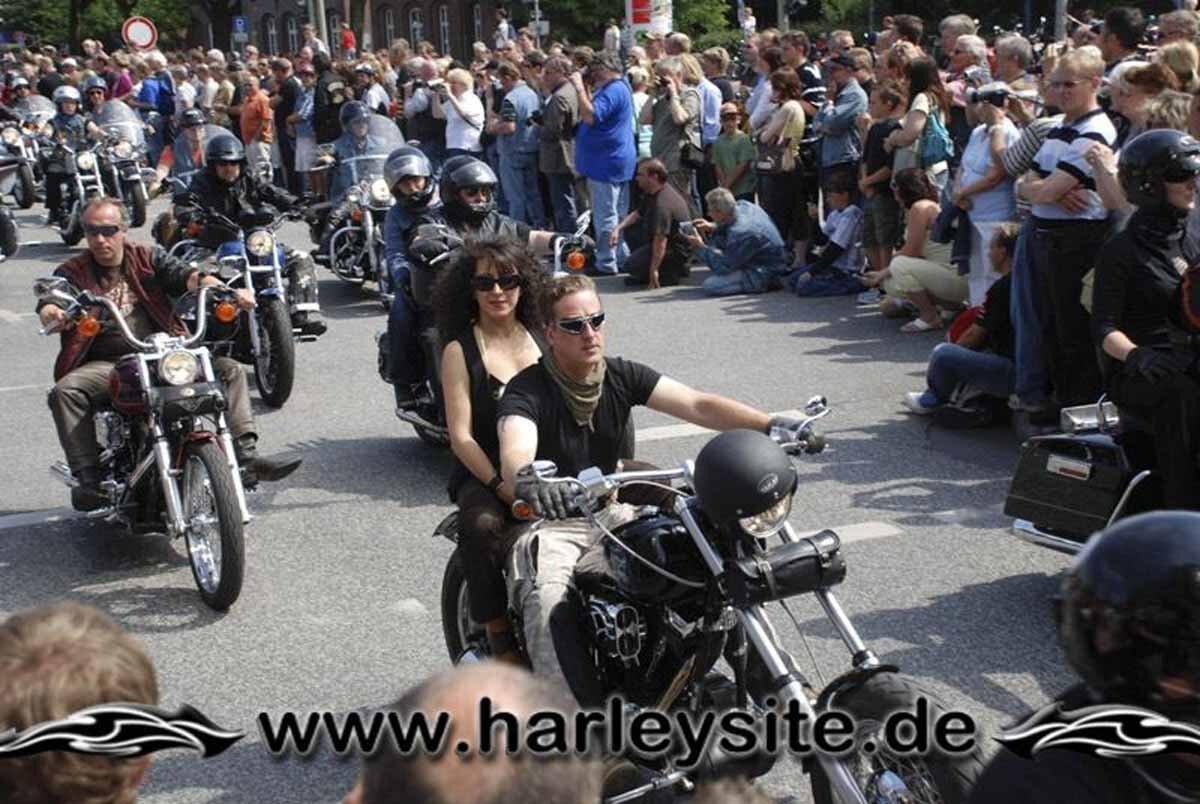 Hamburg Harley Days 2008-Ausfahrt-226