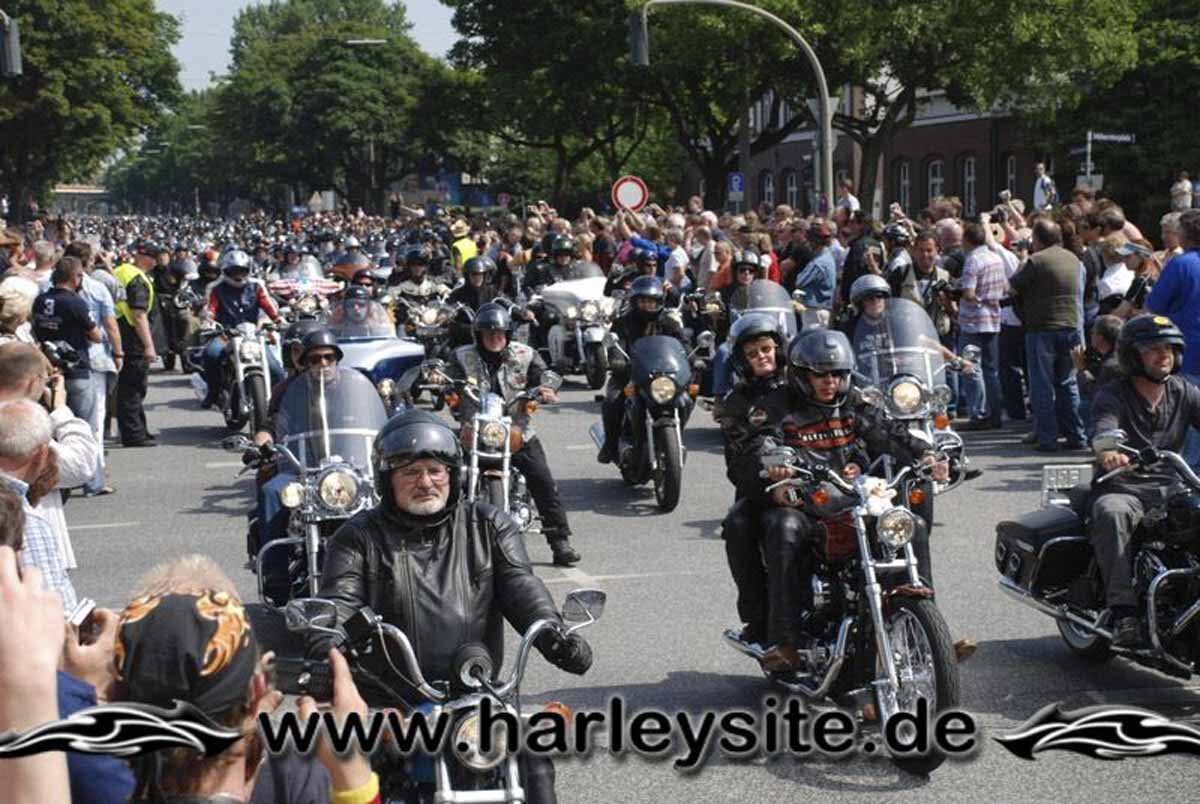 Hamburg Harley Days 2008-Ausfahrt-227