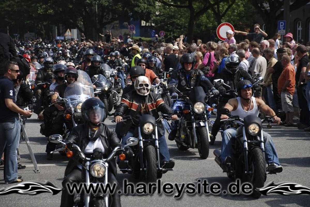 Hamburg Harley Days 2008-Ausfahrt-228
