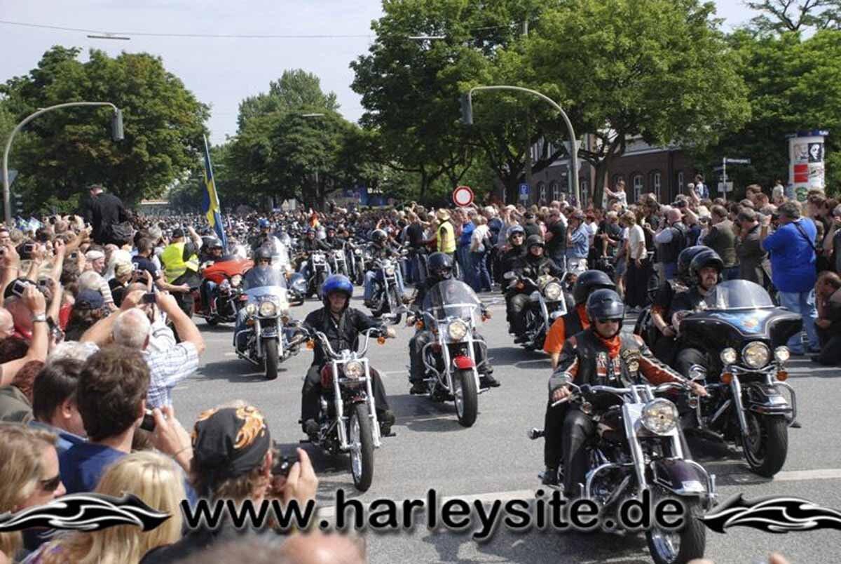 Hamburg Harley Days 2008-Ausfahrt-242
