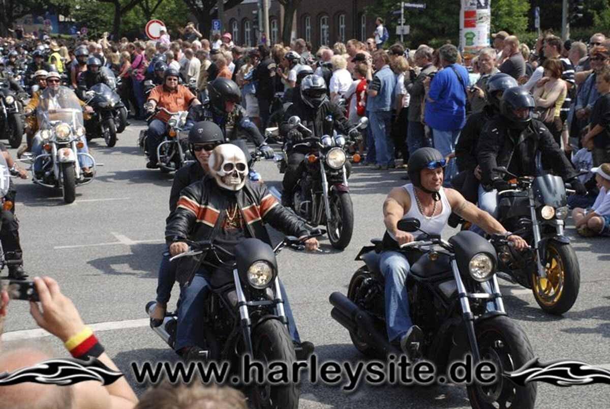 Hamburg Harley Days 2008-Ausfahrt-245