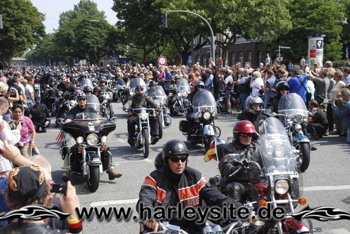 Hamburg Harley Days 2008-Ausfahrt-251