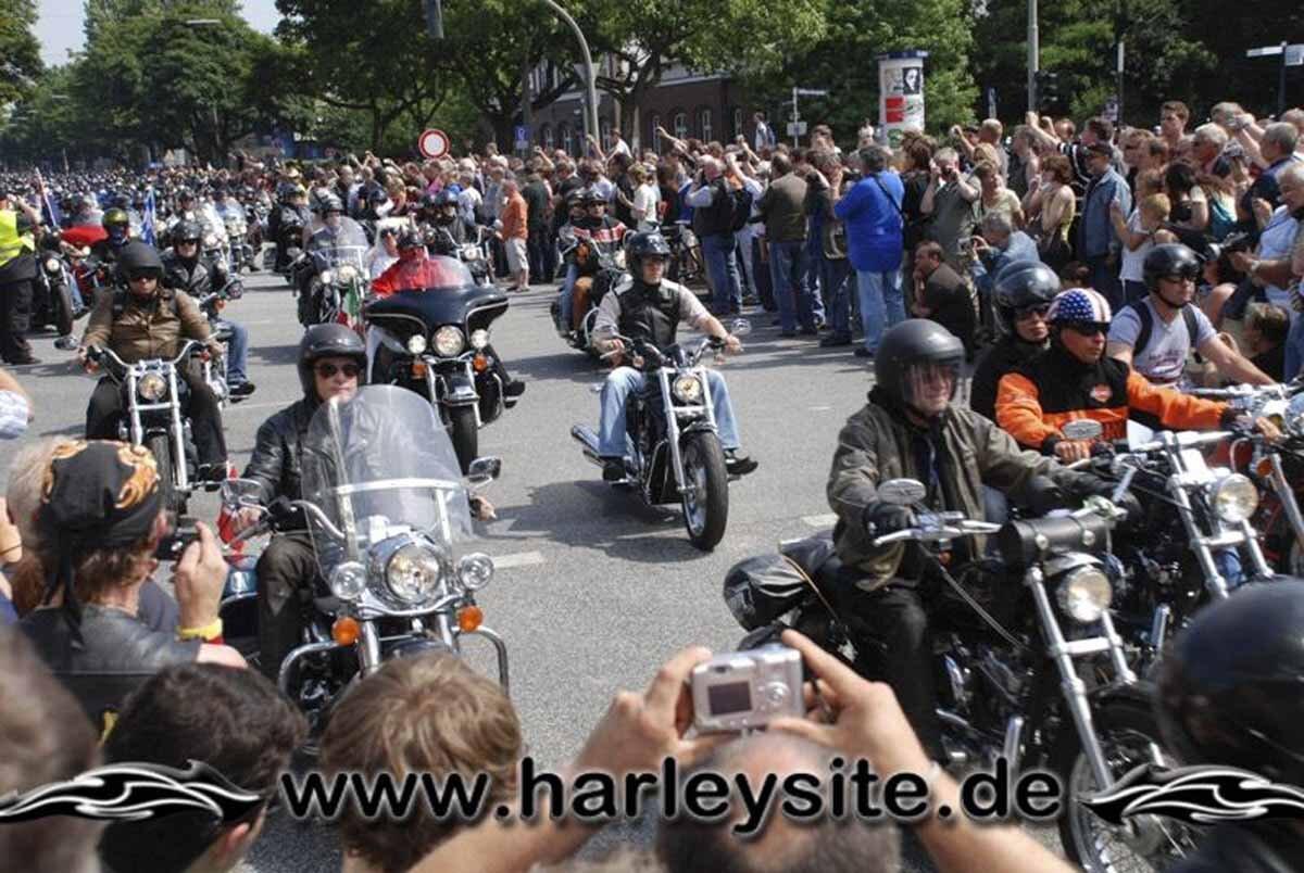 Hamburg Harley Days 2008-Ausfahrt-253