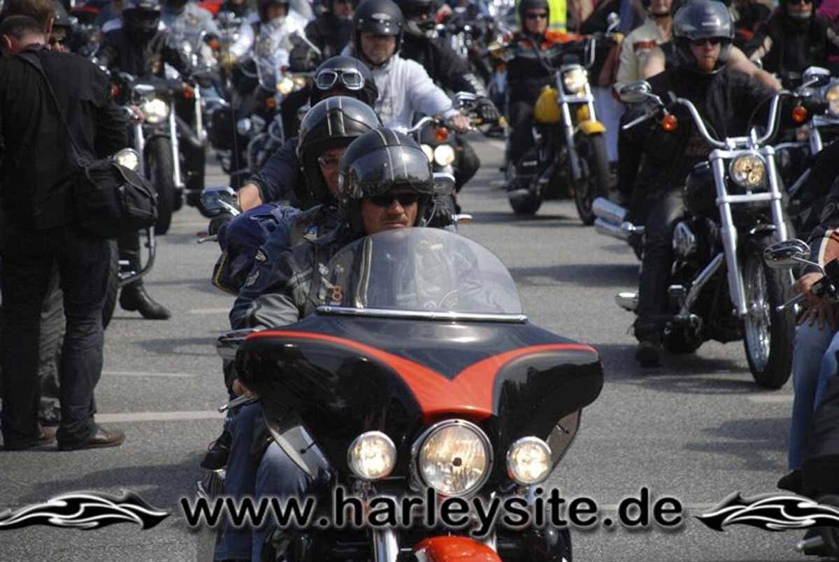 Hamburg Harley Days 2008-Ausfahrt-257