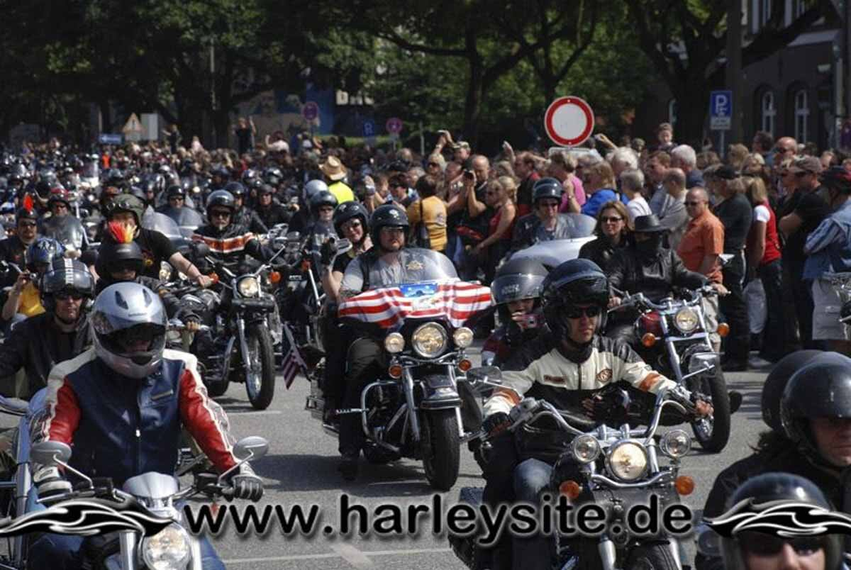 Hamburg Harley Days 2008-Ausfahrt-258