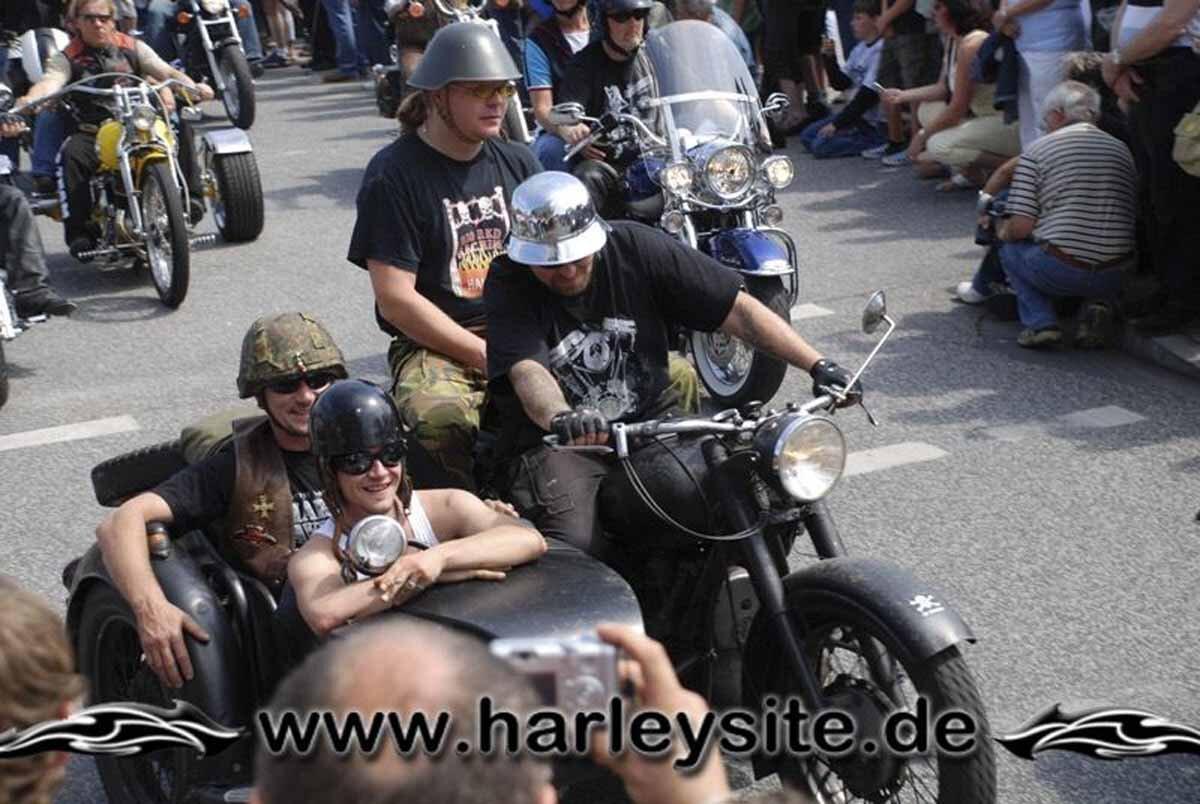 Hamburg Harley Days 2008-Ausfahrt-259
