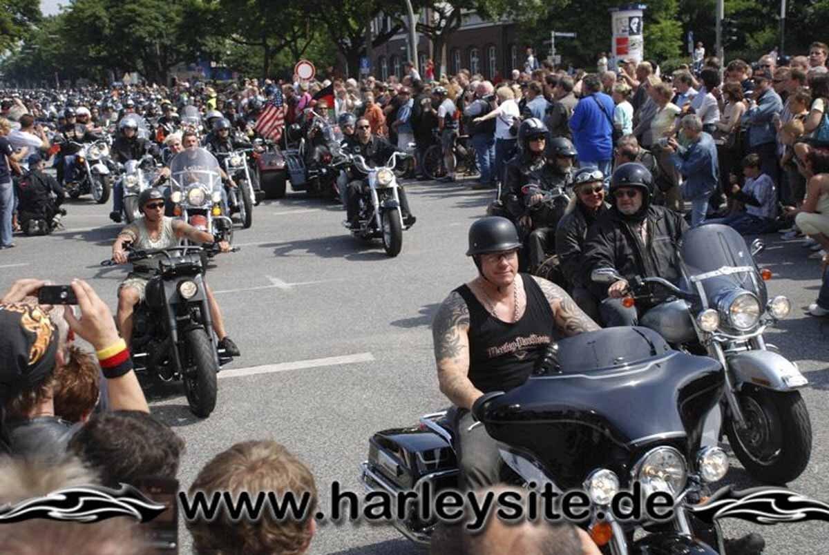 Hamburg Harley Days 2008-Ausfahrt-260