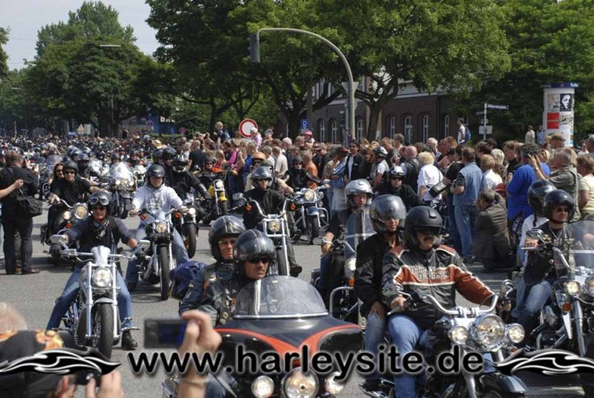 Hamburg Harley Days 2008-Ausfahrt-272
