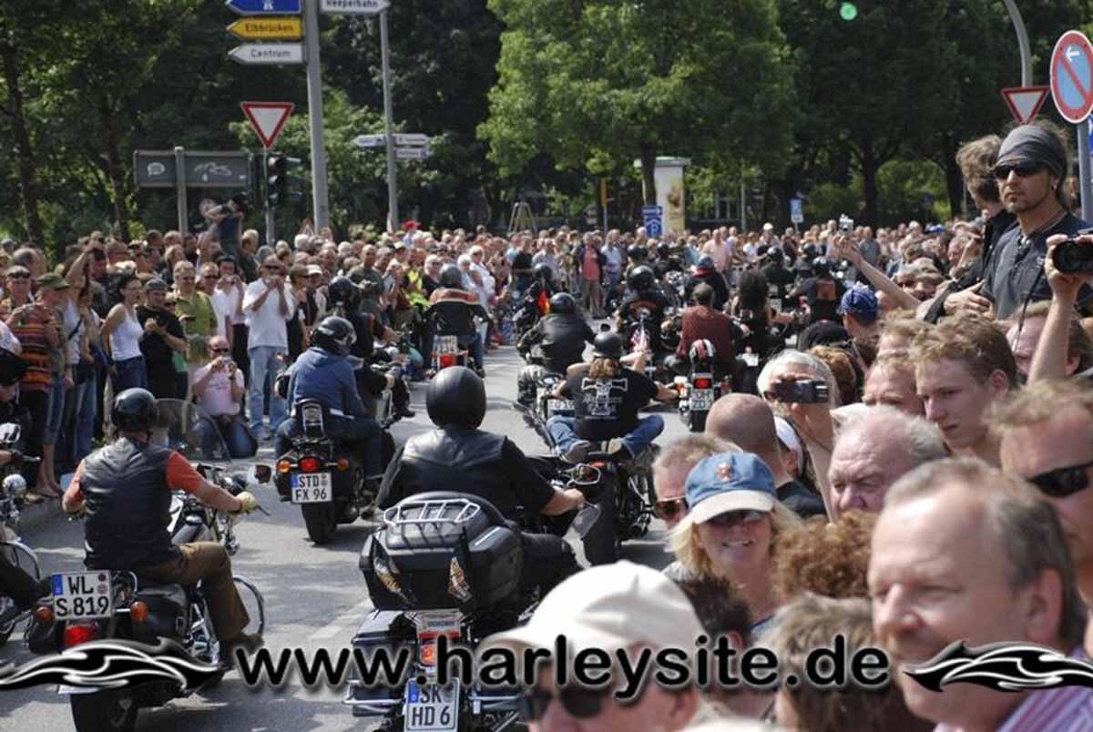 Hamburg Harley Days 2008-Ausfahrt-276