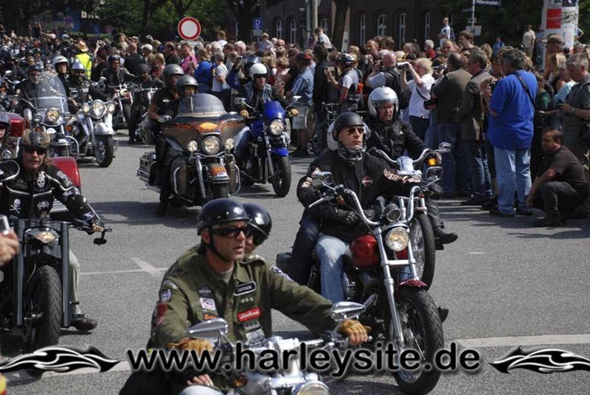 Hamburg Harley Days 2008-Ausfahrt-282