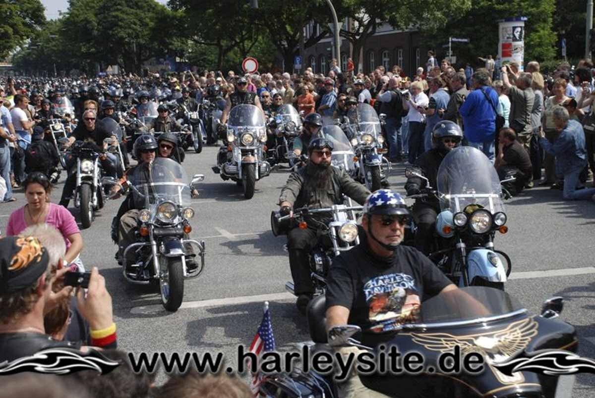 Hamburg Harley Days 2008-Ausfahrt-283