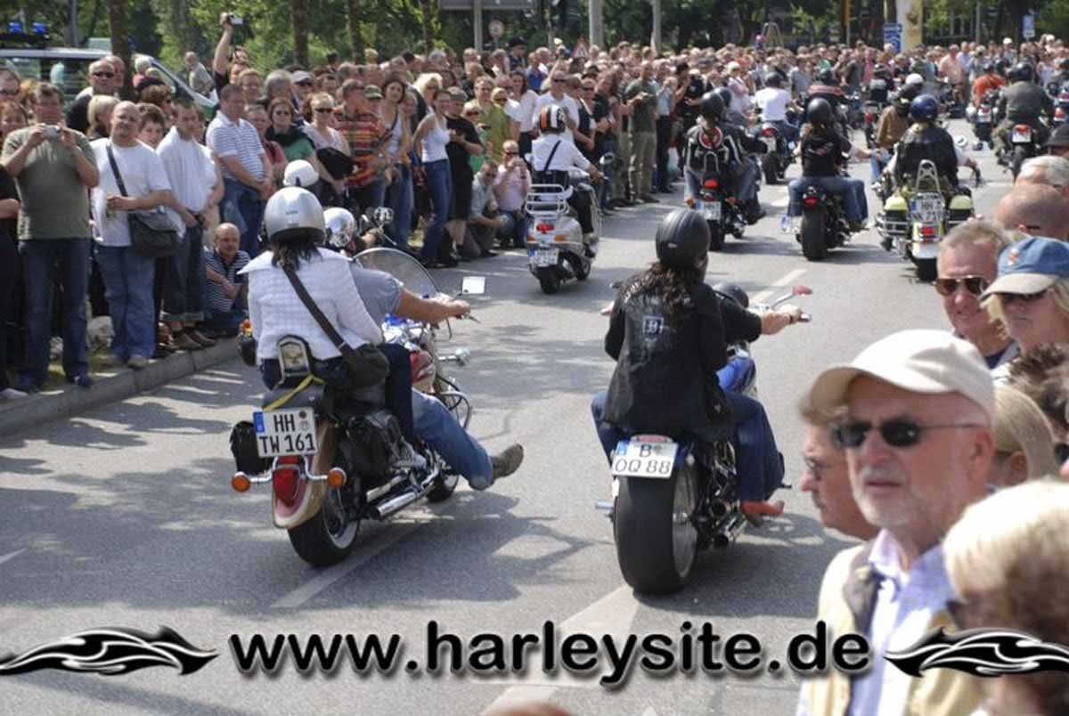 Hamburg Harley Days 2008-Ausfahrt-286