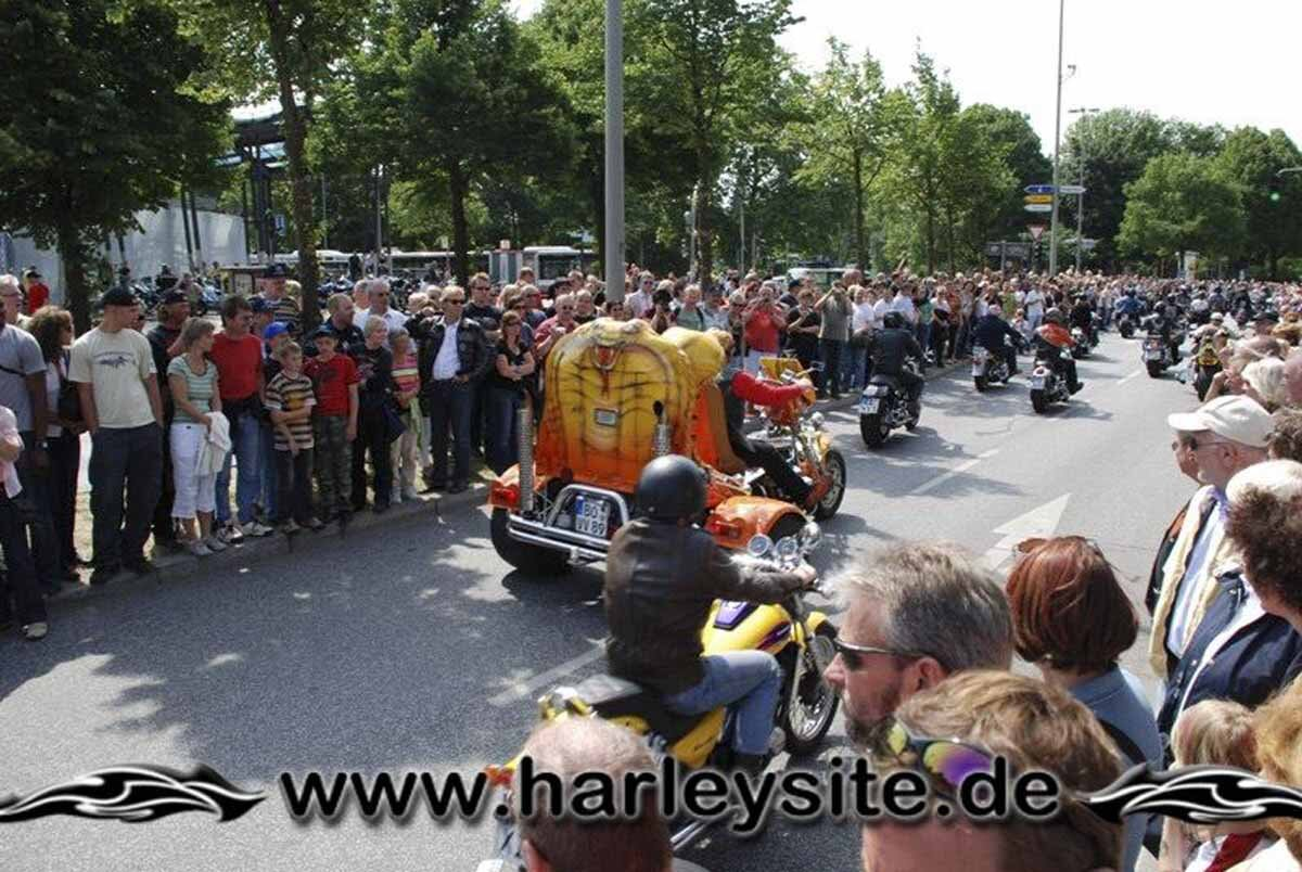 Hamburg Harley Days 2008-Ausfahrt-287