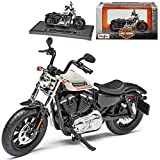 Harley Davidson Forty-Eight Special Australian Version Weiss 1/18...