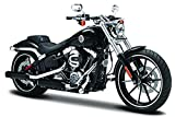 Harley Davidson Modell, 2016 Breakout schwarz (35), Maisto Motorrad 1:18