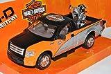 Ford F150 STX Pick-Up 2010 Silber Schwarz Orange mit 2000 FLSTF Fat...