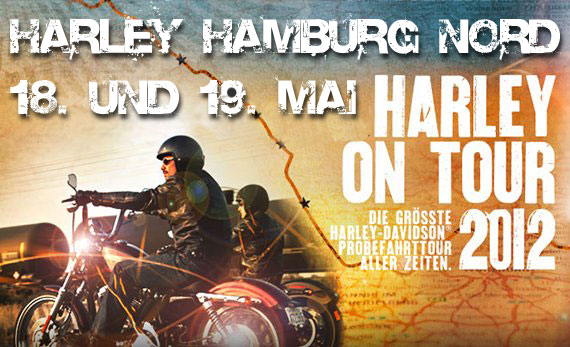 Große Probefahrtaktion bei Harley-Hamburg Nord