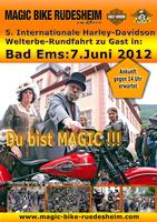 5. Harley Welterbetour Mittelrheintal Stopp in Bad Ems