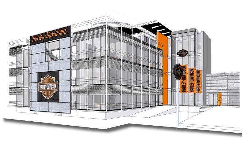 Harley-Davidson Deutschland Zentrale ab November 2012 an neuem Standort Neu-Isenburg