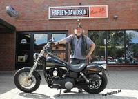 Gewonnene Dyna Street Bob bei Harley-Davidson Breitenfelde abgeholt
