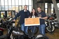 Die Harley-Davidson GmbH unterstützt die  Off Road Kids Stiftung