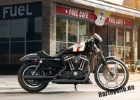 Hubraum-Vergrößerung für Harley-Davidson Sportster 883 Modelle auf 1200 cm3