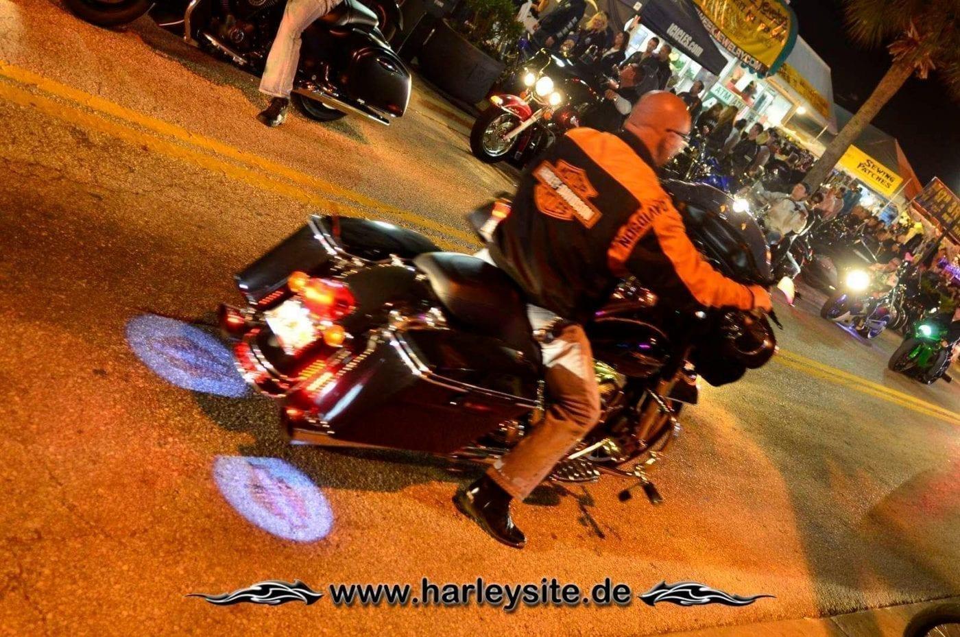 Harley Davidson Logo Projektor