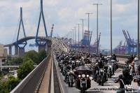 Vom 21. bis 23. Juni feierten die Hamburg Harley Days den 110. Geburtstag von Harley-Davidson