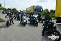 Peter Maffay mit der Harley-Trophy 2013 im Norden auf Tour