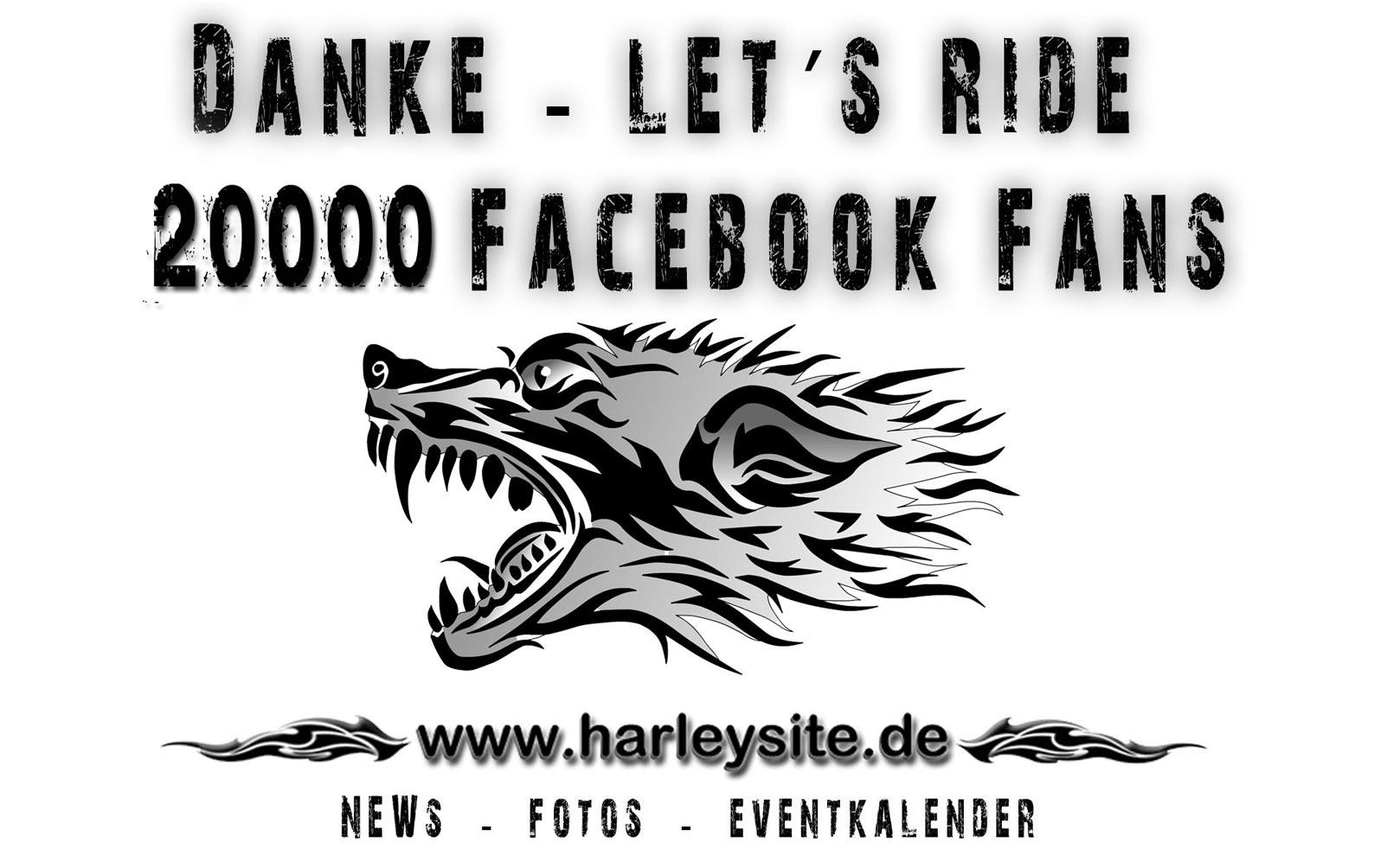 Danke an die 20000 Facebook Fans.