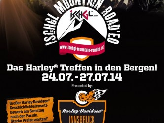 """Heiße Eisen beim """"Harley-Davidson Ischgl Mountain Roadeo"""""""
