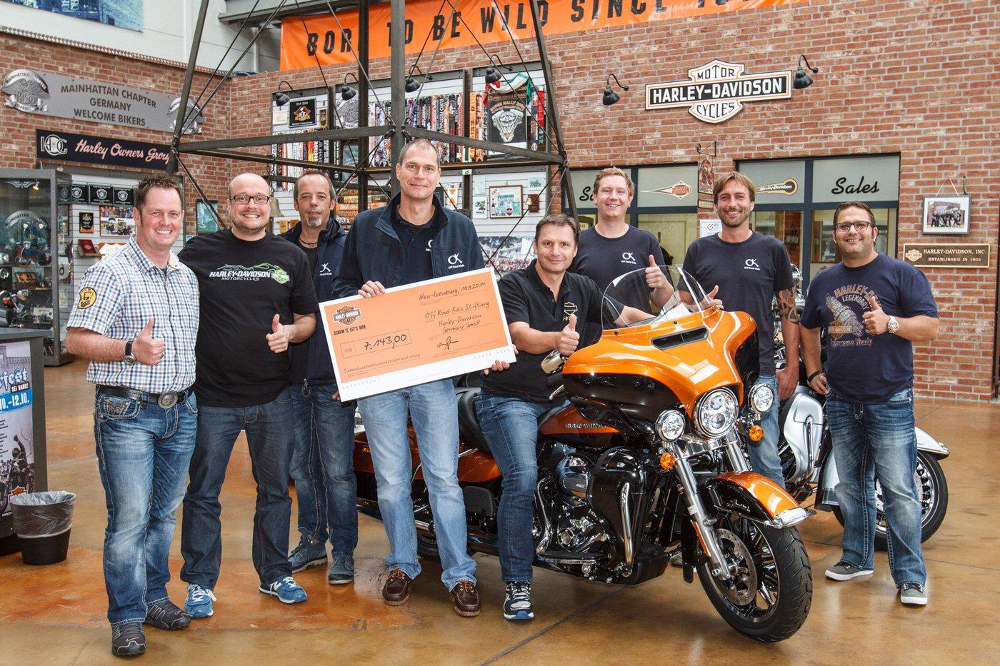 """Harley-Davidson unterstützt die """"Off Road Kids""""-Stiftung"""