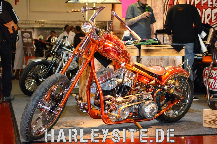 Erster Tag Custombike-Show Bad Salzuflen 2014