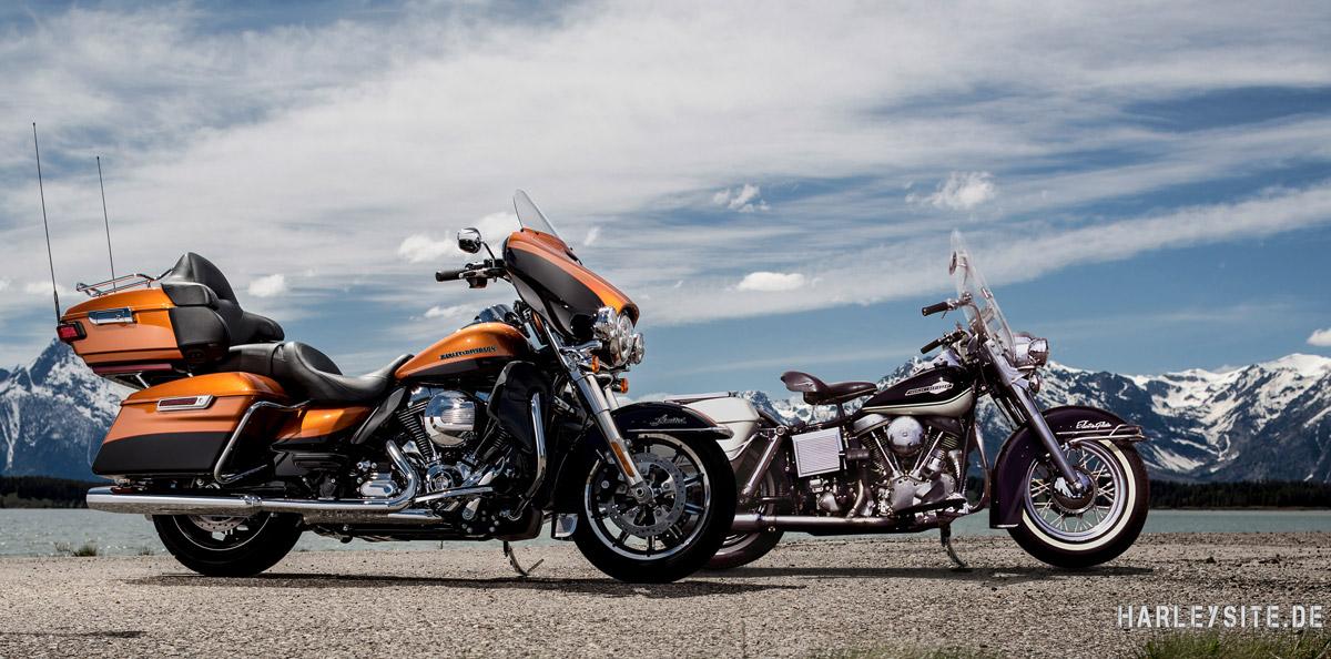 Die Harley-Davidson Electra Glide wird 50