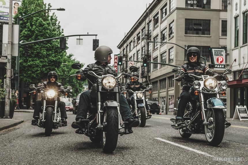 Mit dem Open House läuten die deutschen Harley-Davidson Vertragshändler im April die Saison ein