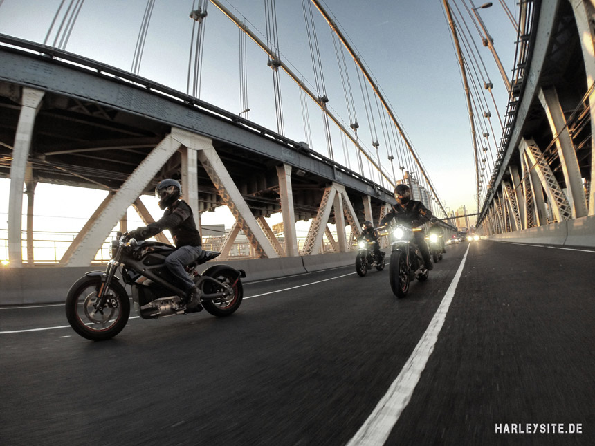 HARLEY-DAVIDSON® PROJECT LIVEWIRE™ EXPERIENCE TOUR  JETZT AUCH IN EUROPA
