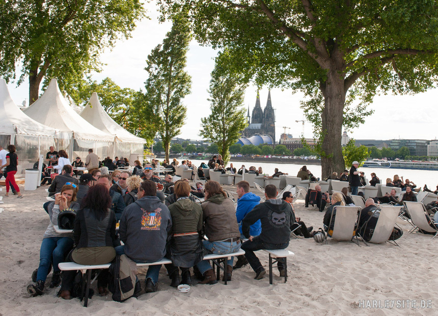 Vom 23. bis 24. Mai steigt der zweite Harley Dome Cologne