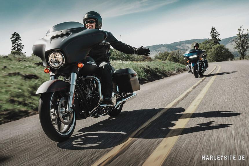 Inzahlungnahmeaktion bei Harley-Davidson