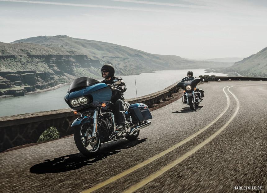 Probefahrten XXL auf Harley-Davidson Touring Bikes