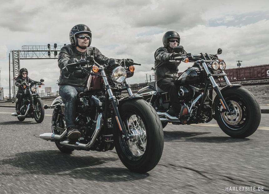 Dark Custom Events bei Harley-Davidson Vertragshändlern