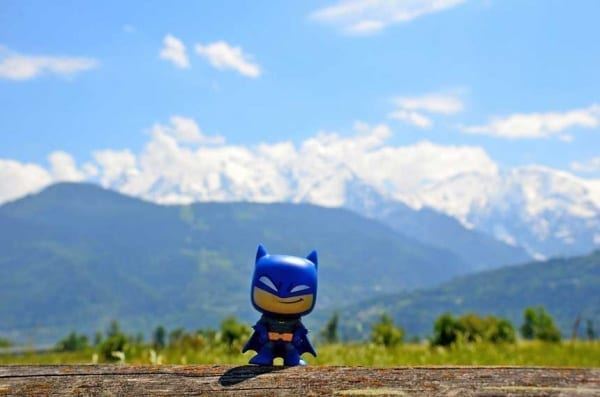 Mr. Wayne in Frankreich