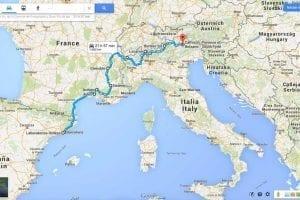 Spanien - Schweiz - Italien