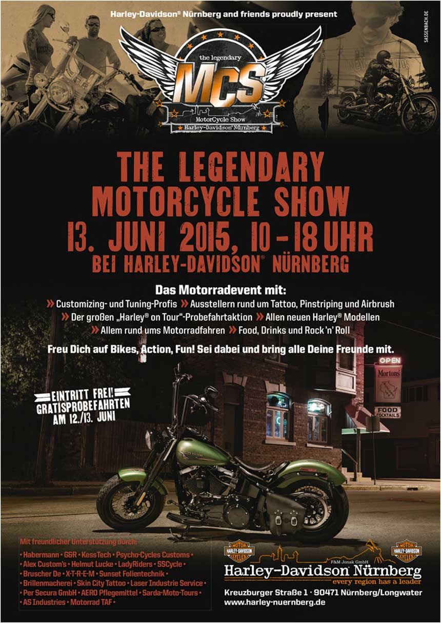 The Legendary Motorcycle Show in Nürnberg