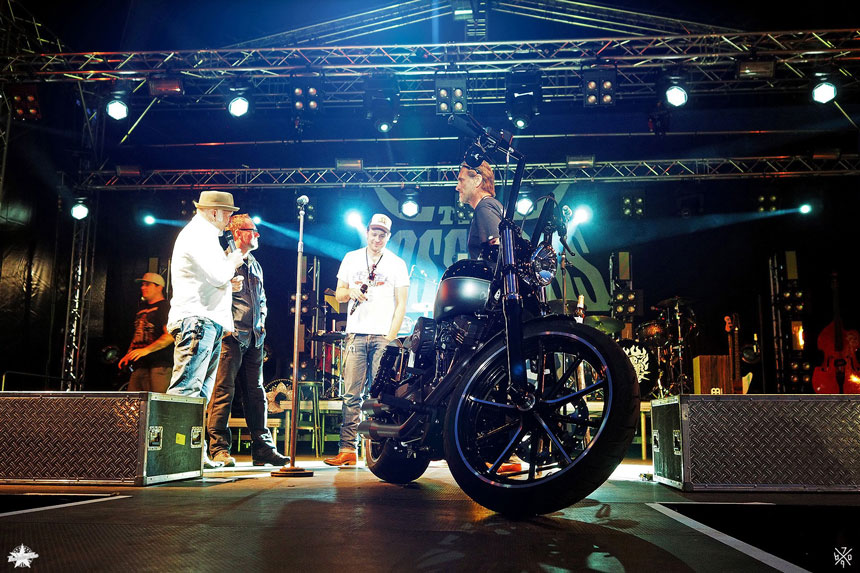 Das Finale der Spendenaktion Motorrad 2014/15