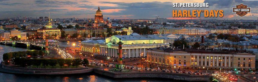 Mit der Harley nach St. Petersburg