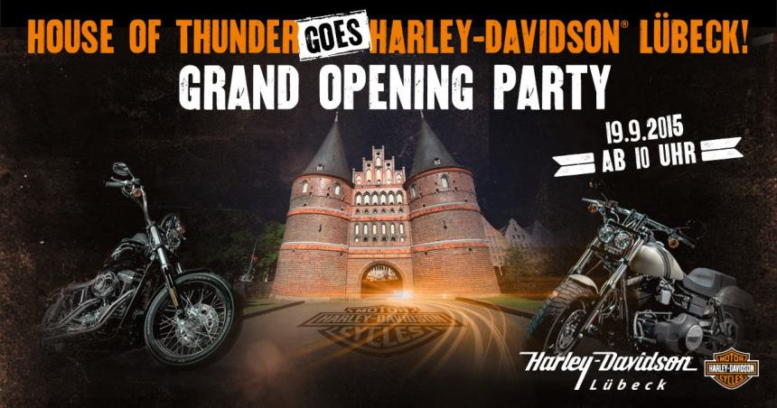 House of Thunder goes Harley-Davidson