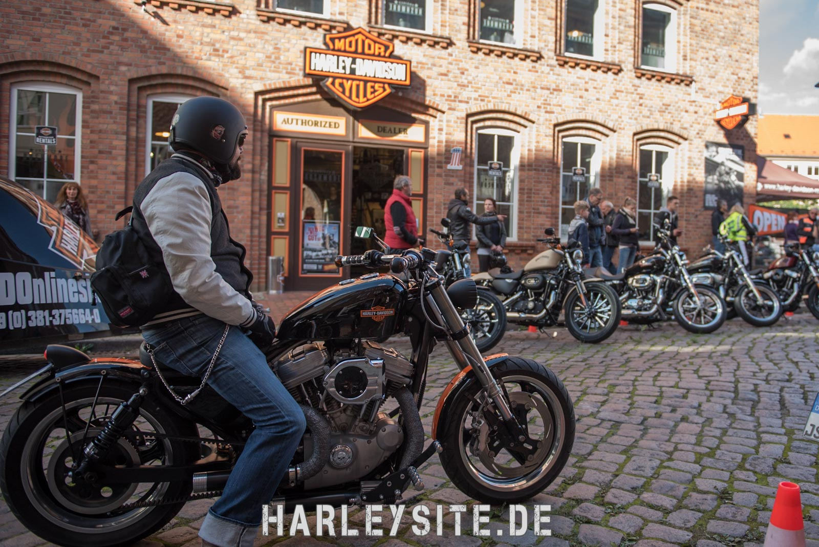 Open House bei Harley-Davidson Rostock