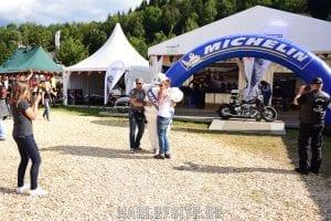 Michelin am Faaker See zur European Bike Week
